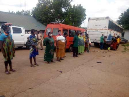 NIS: Arrest Of Human Traffickers, 14 Togolese, 10 Nigerians Excites Babandede
