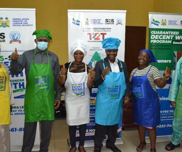 Ocansey's SOS Trains Sierra Leoneans On Decent Work Techniques
